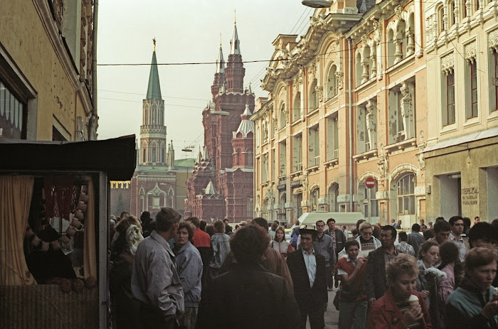 Moscou, rue Nikolskaya, © L. Gigout, 1990