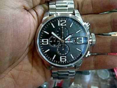 Jam Expedition E 6386 Silver Black Dial