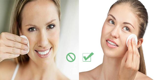 4 lỗi tẩy trang thường thấy dễ gây nổi mụn cho da