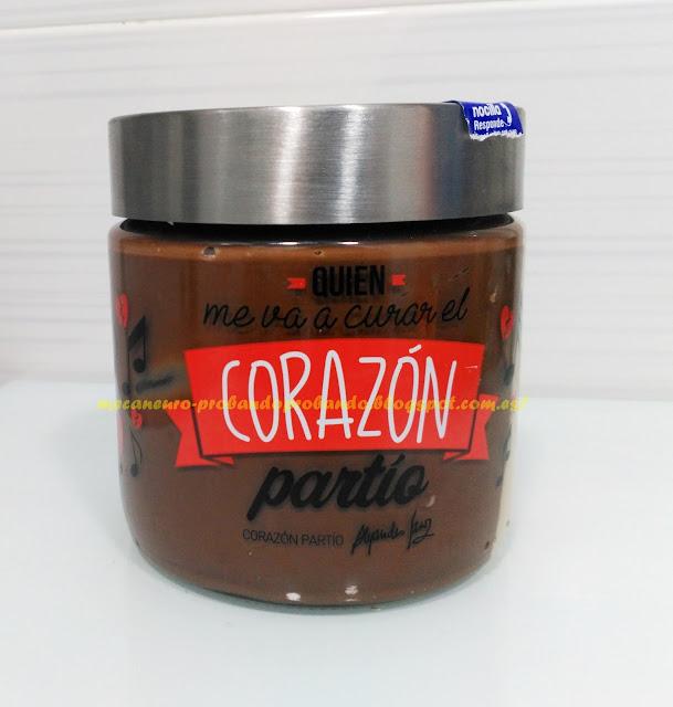 Tarro Nocilla colección Alejandro Sanz