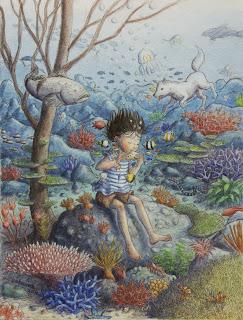 musica, mar, La niña que salió en busca del mar