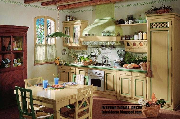 Country style kitchens 15 the best kitchens in country style - Country style kitchen cabinets ...