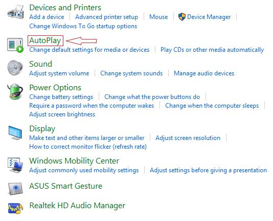 Cara Mematikan Autoplay/Autorun Windows 10 - Agung Eka's Blog