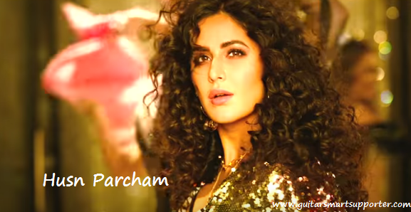 Husn Parcham Guitar Chords with Lyrics Strumming Pattern