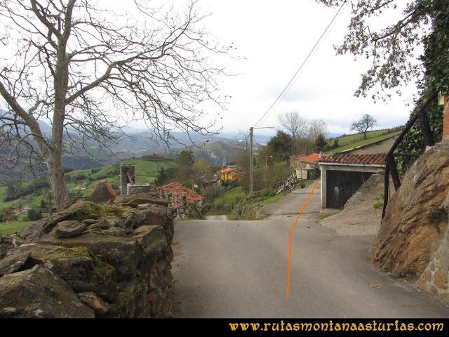 Ruta Olloniego Escobín: Del Escobín, bajando a las Covadiellas