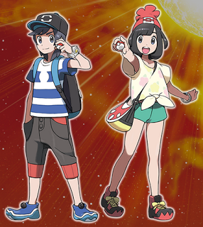 Protagonistas - Pokémon Sun & Moon