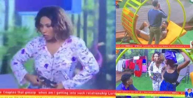 "BBNaija2019: ""You Didn't Make It In America, Is it here in Nigeria you will make it""? – Mercy to Ike"