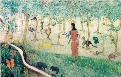 A Fonte da Saudade. Gravura de Ludovico Sarcinella.
