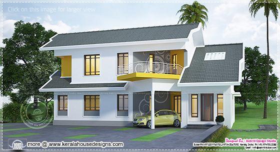 Unique modern home