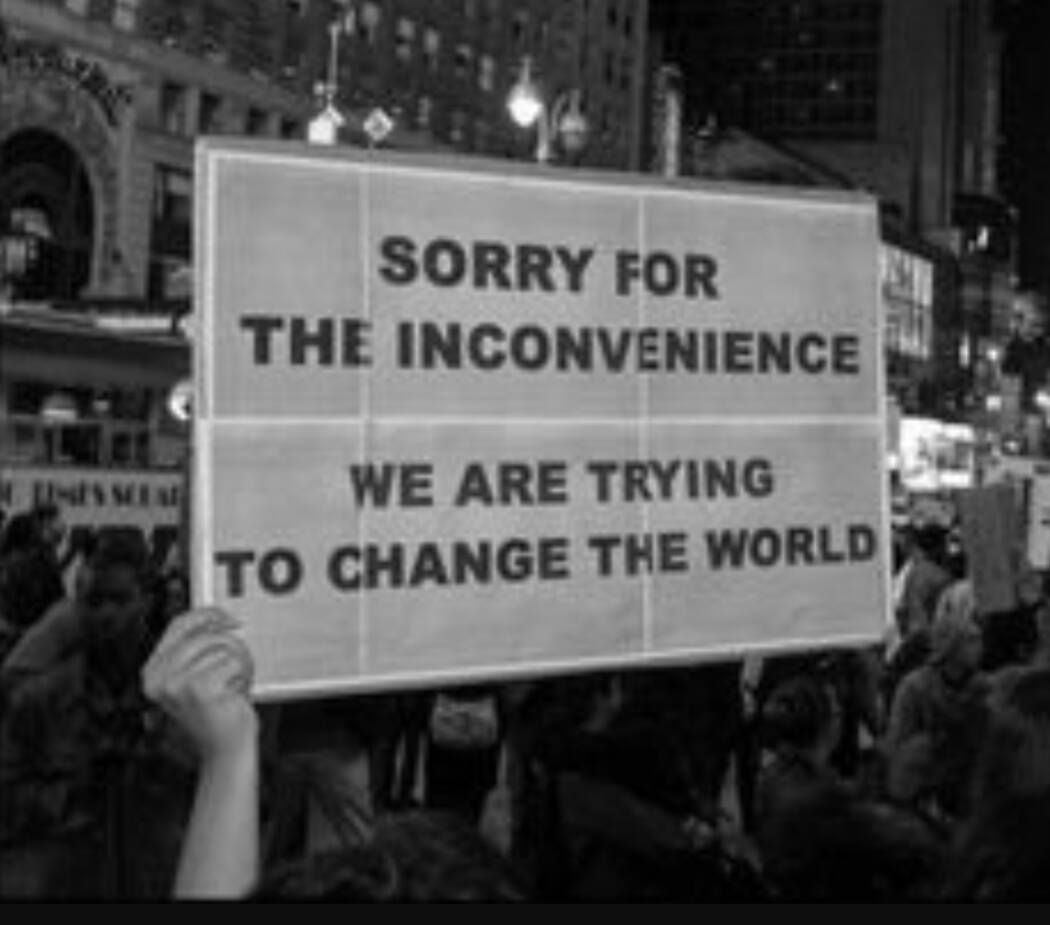 Sorry: The Revolution Continues : Sorry For The Inconvenience: We