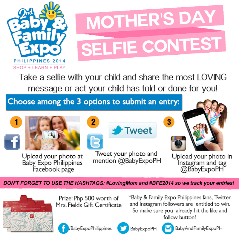 Baby & Family Expo Mother's Day Contest