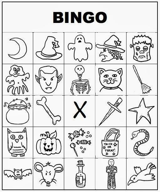 free halloween bingo cards printable for kids 3