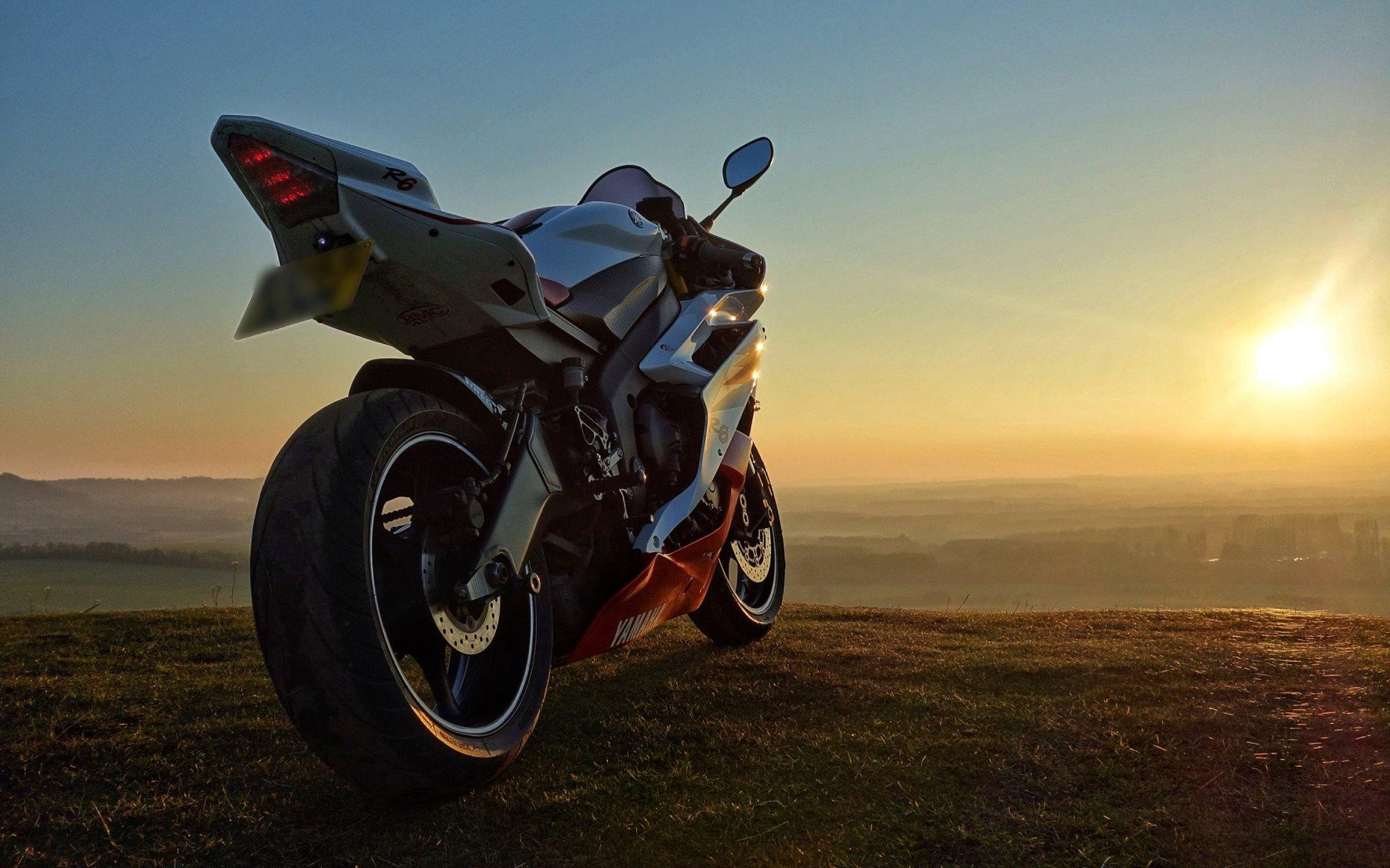 Kawasaki Ninja &amp- Yamaha R6 Motorcycles | HD Wallpapers ? 4K