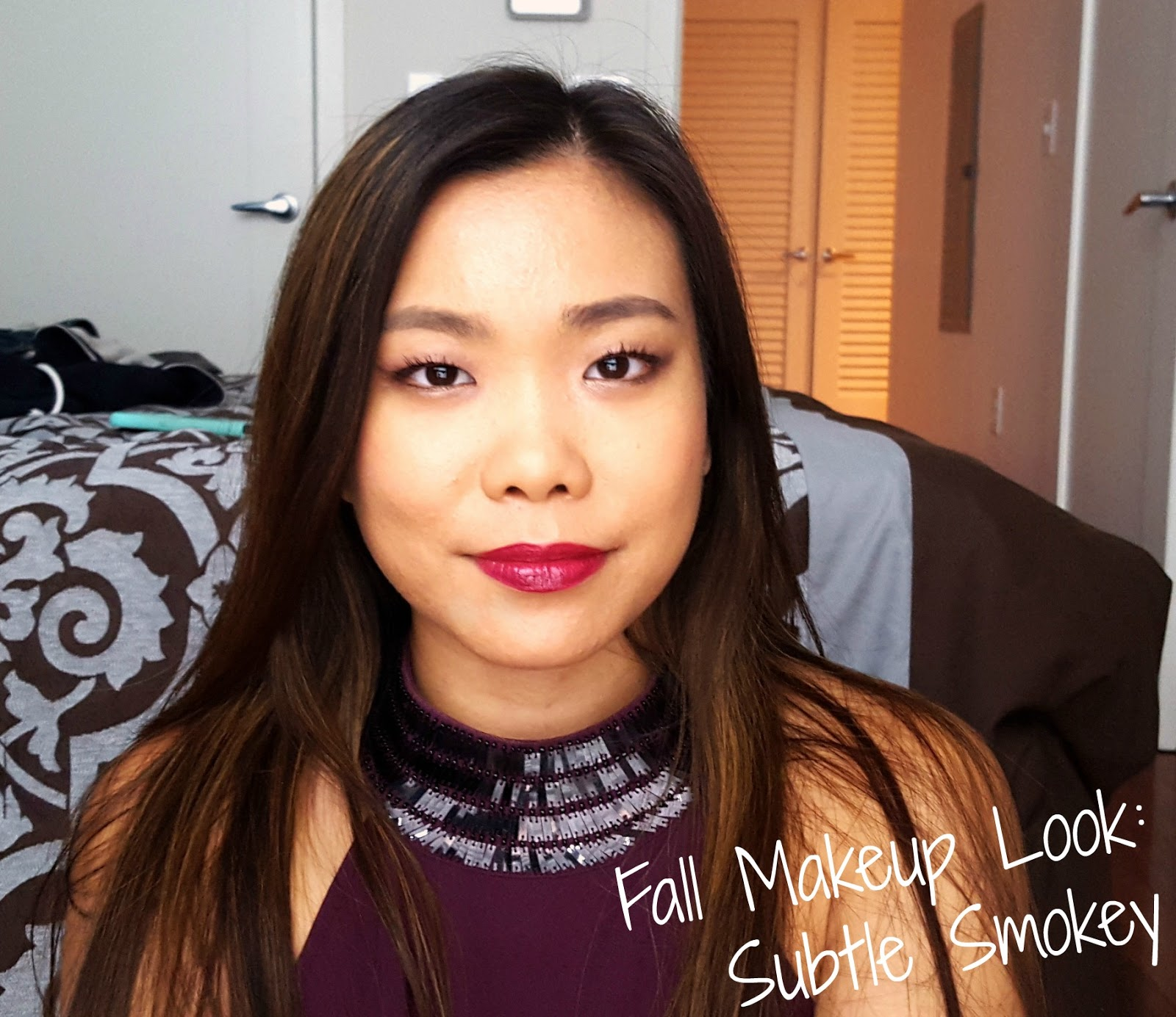 Fall Makeup Tutorial Subtle Smokey La Vie En May Petite