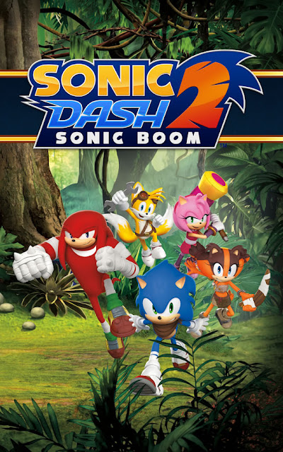 Sonic Dash 2: Sonic Boom v1.7.6 Apk Mod Download