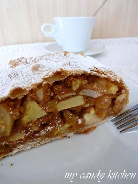 Ябълков щрудел по оригинална виенска рецепта