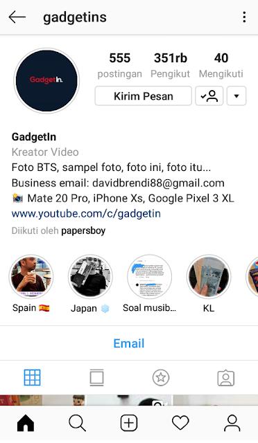 Instagram GadgetIn