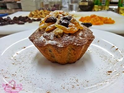 cupcake de frutas secas