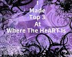 Top 3 at Where The HeART Is #5 Challenge