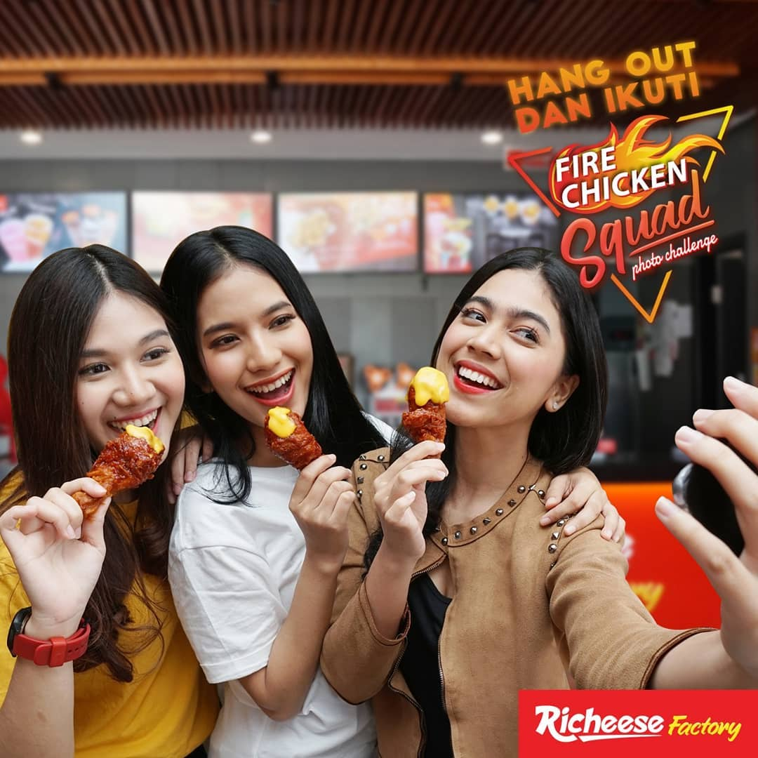 RicheeseFactory - Promo  Fire Chicken Squad Photo Challenge (s.d 16 Des 2018)