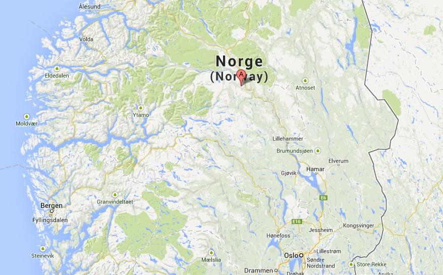 kart sjoa Goturen: Rafting i Sjoa kart sjoa
