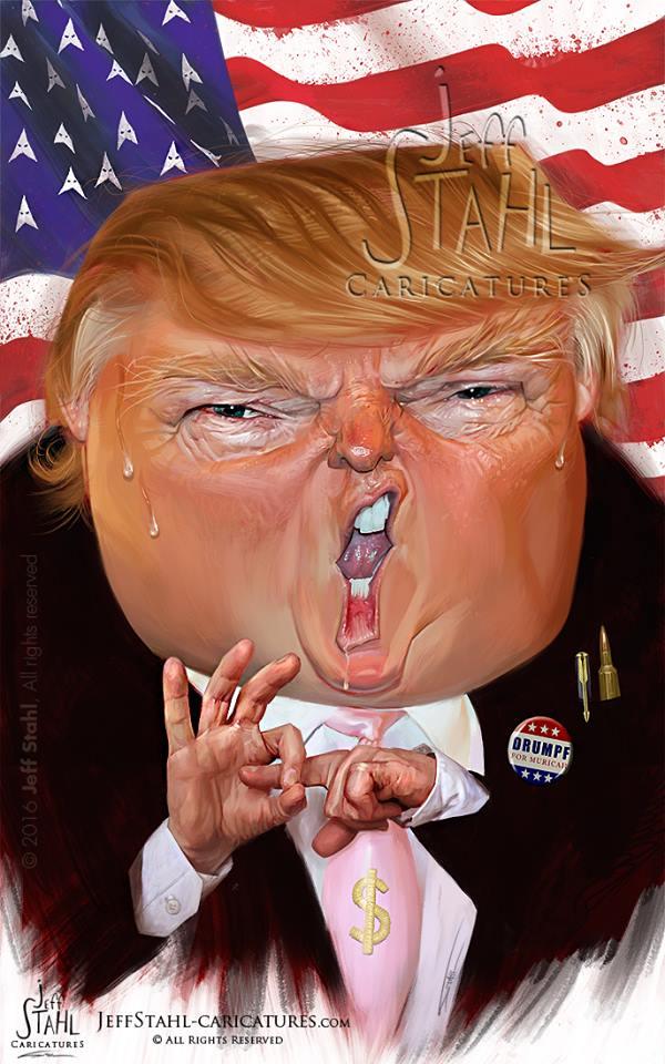 Donald Trump por Jeff Stahl