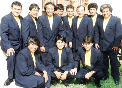 Foto de Agua Marina con integrantes más jóvenes
