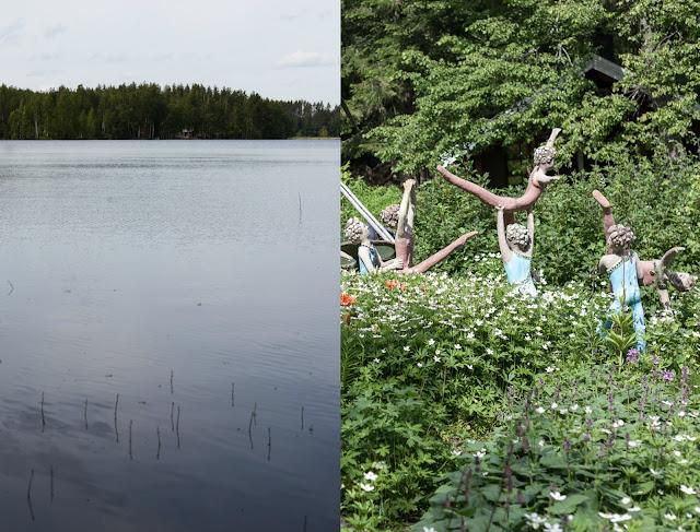statue park finland