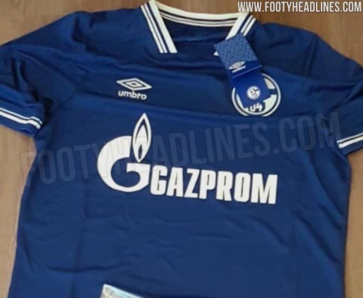 Nueva camiseta local FC Schalke 04
