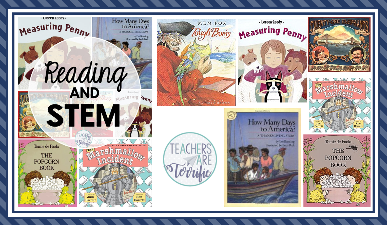 It's a post about using picture books with STEM to grab the attention of students and get them started on a building project. So many teachers have let me know this is a perfect way to engage students and cover many subject areas!