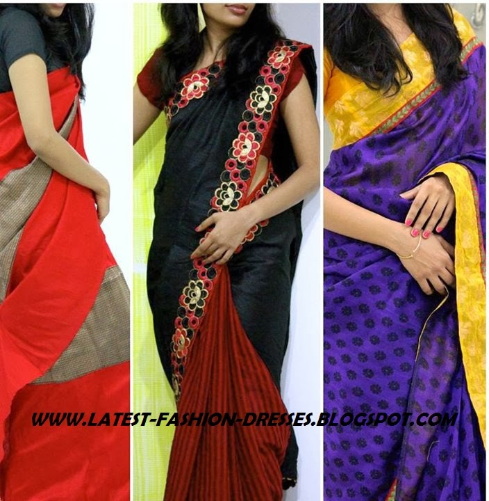 COLOUR FULL BORDER SAREE