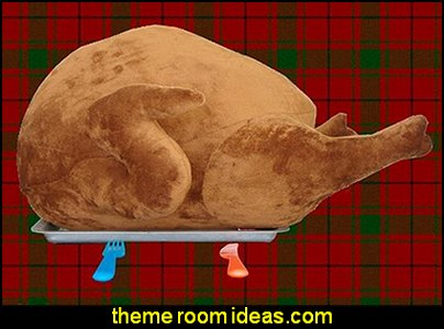 Turkey Shape Design Plush Throw Pillow kitchen accessories - fun kitchen decor - decorative themed kitchen  - novelty mugs - kitchen wall decals - kitchen wall quotes - cool stuff to buy - kitchen cupboard contact paper -  kitchen storage ideas - unique kitchen gadgets - food pillows