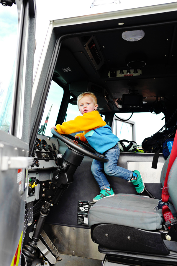 toddlers love fire trucks