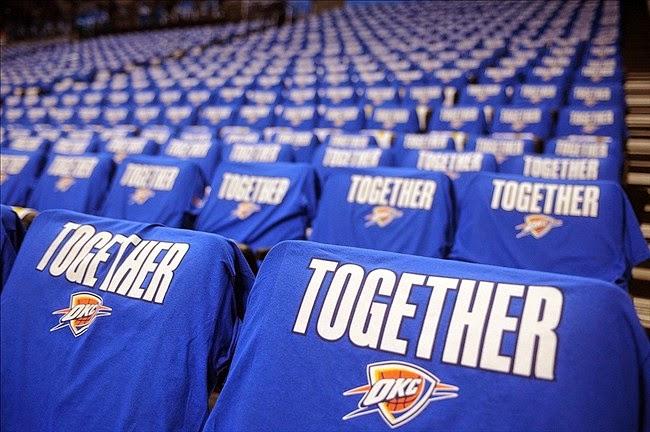 low priced 33edb a3a3d NBA 2K14 OKC Thunder Playoffs Crowd Mod - NBA2K.ORG