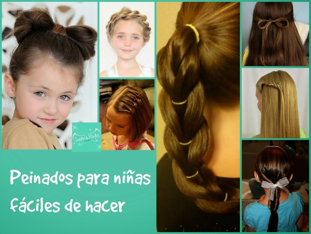 Peinados Faciles De Hacer Para Niñas Puzzle Miniatura
