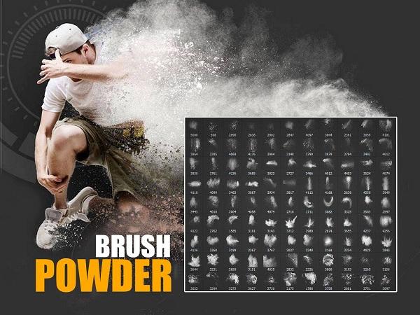 تحميل مجموعة الـ Brush الرائعه للفوتوشوب الخاصه بالبودره -بلال ارت-مصدرابداعك
