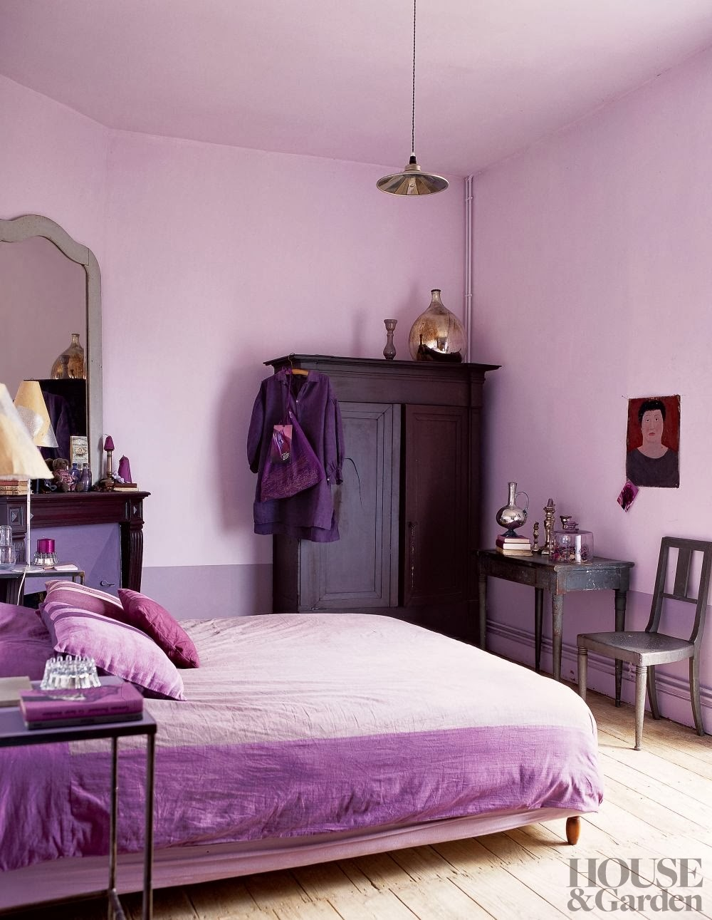 purple colour bedrooms decordemon inspiration radiant orchid pantone color of 12987
