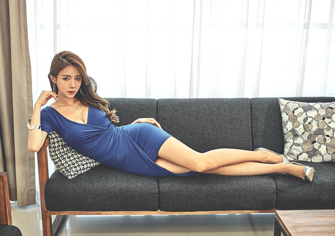 Korean Model Lee Sihyun on Magazine Jan 2017