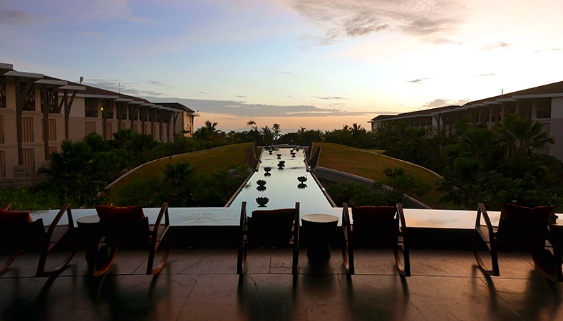 Euriental | fashion & luxury travel | sunrise at Sofitel Nusa Dua, Bali