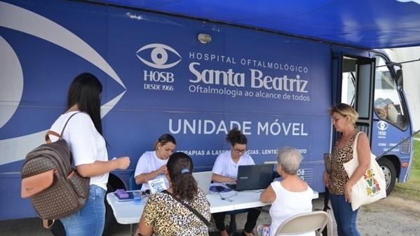 Mutirão de consultas oftalmológicas é realizado e visa reduzir fila de espera em São Pedro da Aldeia