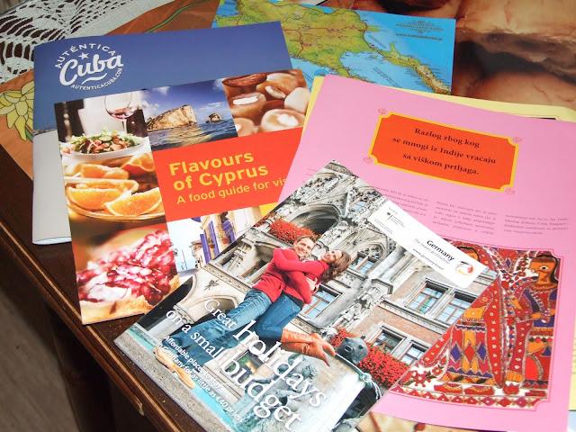 Brošure sa sajma turizma