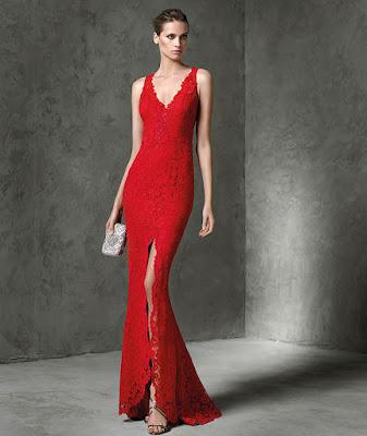 Vestidos de Noche Rojo