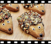 http://caroleasylife.blogspot.com/2014/11/hedgehog-cookie.html