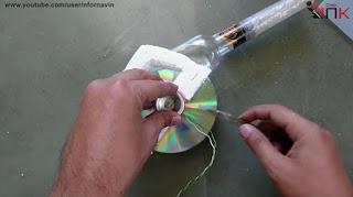 Blower Dari CD Bekas Buatan Sendiri