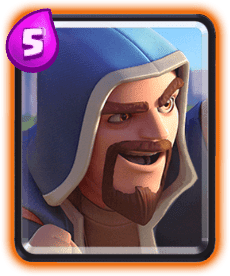 Carta Mago de Clash Royale - Cards Wiki