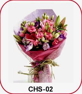Rangkaian Bunga Hari Raya Idul Fitri