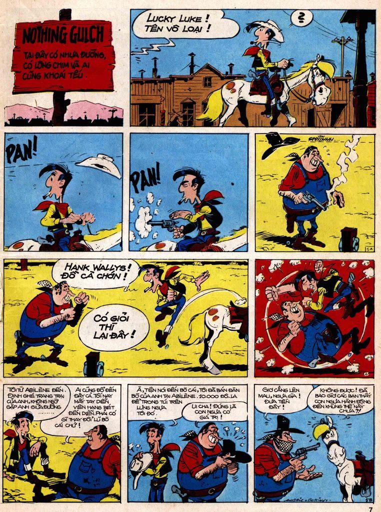 Lucky Luke tap 18 - ki si ao trang trang 5