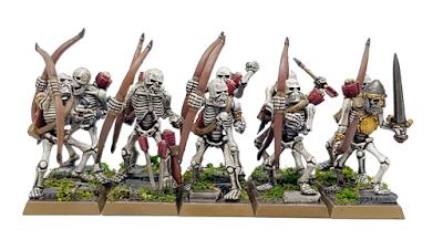 Warhammer Fantasy Skeleton Archers