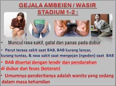 Jual Obat Ambeien Kirim Ke Kabupaten Gayo Lues (082326813507) _ Gejala Ambeien Stadium 1 - 2