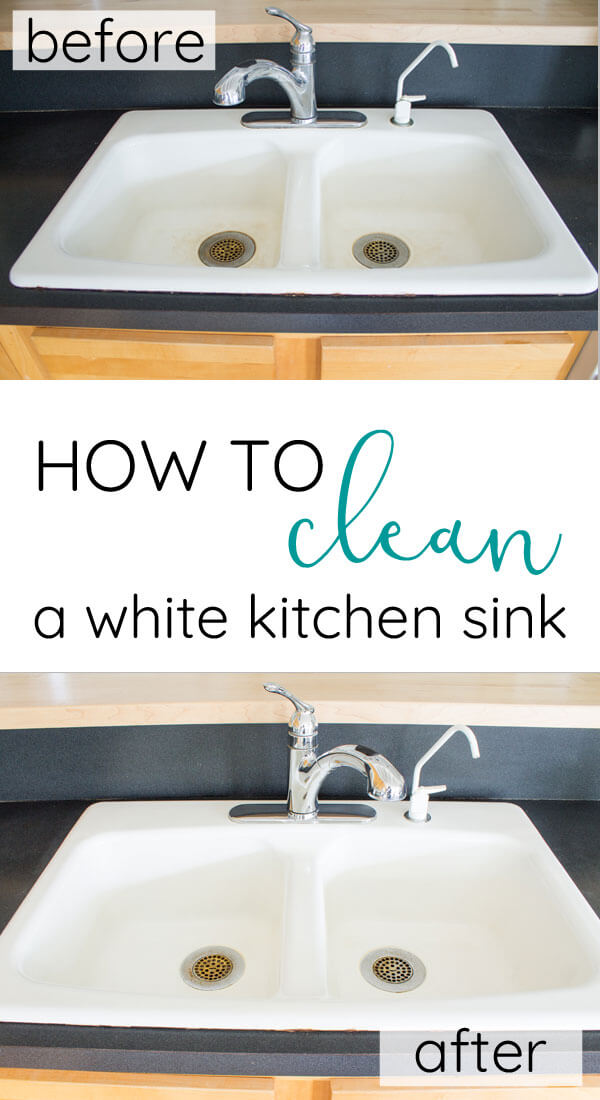 How To Clean An Enameled Cast Iron Kitchen Sink The